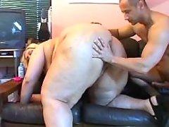 Megafat lady w huge ass gets fucked