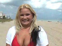 Fat blonde