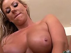 Chesty milf titsfucks and cockrides