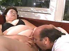 Appetizing titty fatty takes a ride