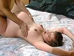 Pregnant girl sucks cock and fucks