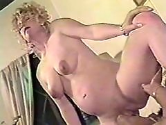 Pregnant blonde licked and fucked
